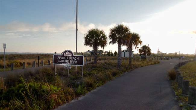 MAY 25, 2015 - Memorial Day at Apollo Beach Nature Park was closed