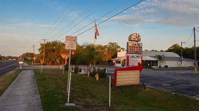 MAY 25, 2015 - RUSKIN VFW POST 6287 along US-41 on Memorial Day 2015