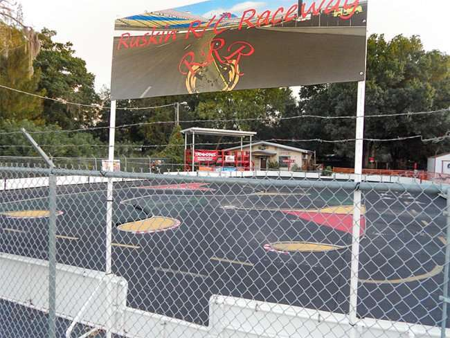 MAY 25, 2015 - Ruskin RC Raceway for radio controlled racing in Ruskin South Shore, FL