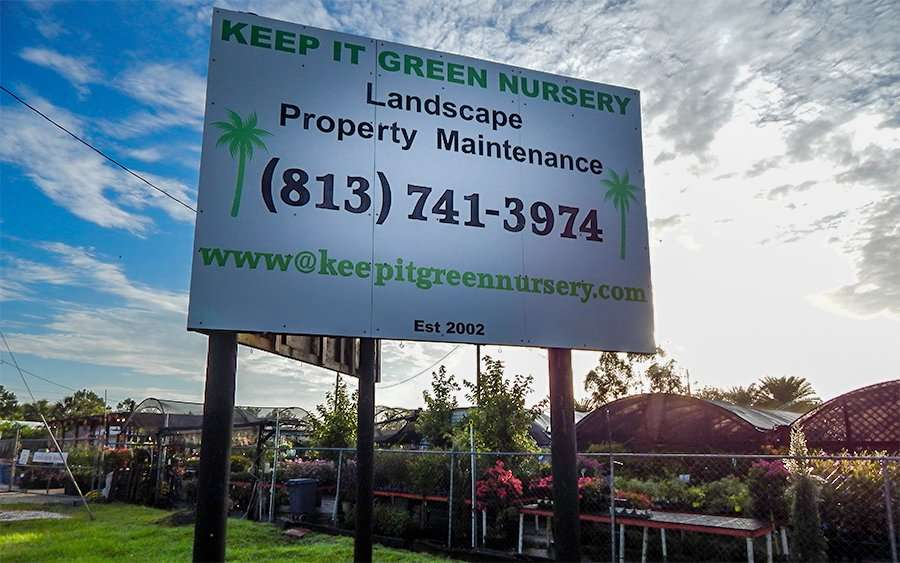 Keep It Green Nursery For Yard Maintenance Apollo Beach Fl Photo News 247