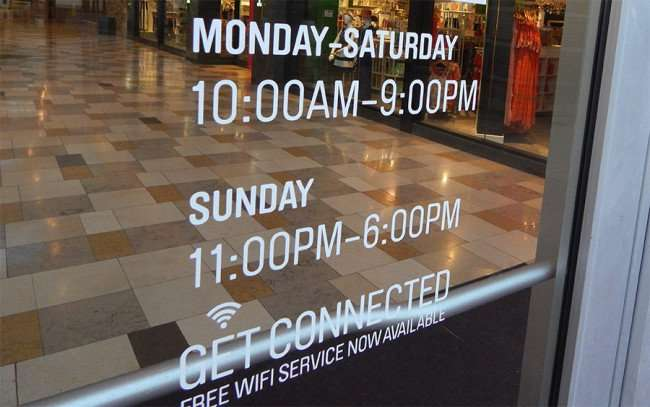 MAY 28, 2015 - Free Wi-Fi at Westfield Brandon Mall