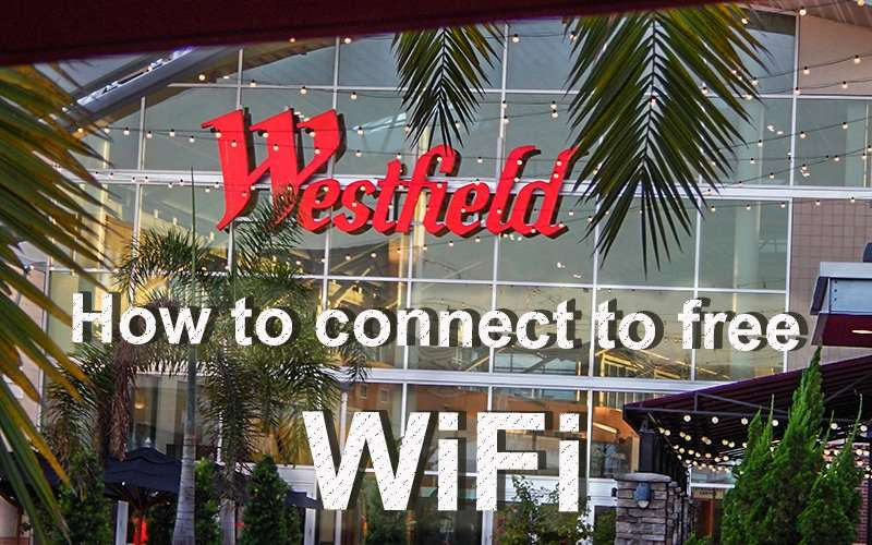 MAY 28, 2015 - Westfield Brandon Mall how to connect to free WiFi