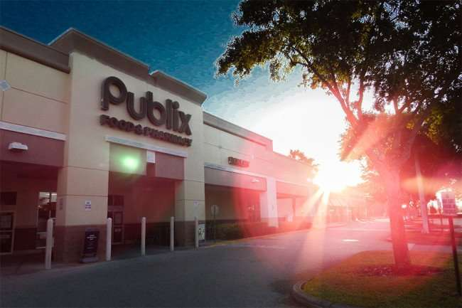 MAY 7, 2015: (edited) Publix Super Market, Kings Crossing, Sun City Center, FL/2015 photonews247.com