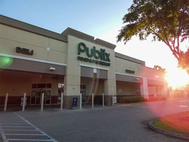May 7, 2015 - Publix lens flare Kings Crossing, Sun City Center, FL / Photo News 247