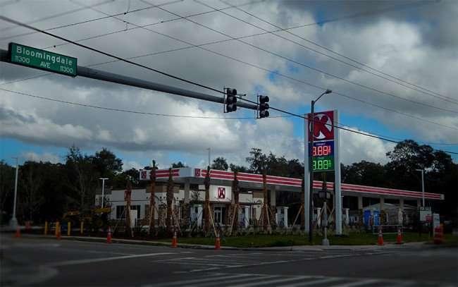 DEC 13, 2015 - Circle K Gas Station Store on Bloomingdale Ave, Brandon, FL/photonews247.com