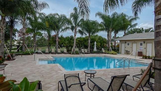 JUNE 12, 2015 - New pool at Verona Renaissance, Sun City Center, FL