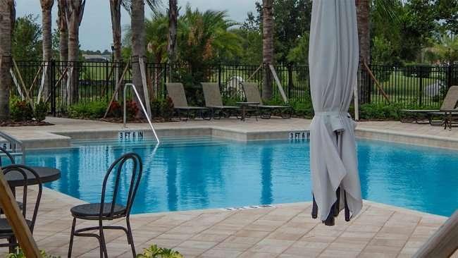 JUNE 12, 2015 - New pool deck at Verona Renaissance, Sun City Center, FL