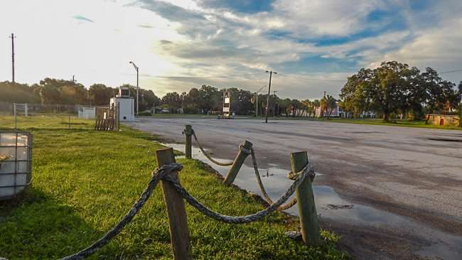 June 10, 2015 - A view of US 41 and parking lot from Alafia Bait and Tackle in Gibsonton, FL
