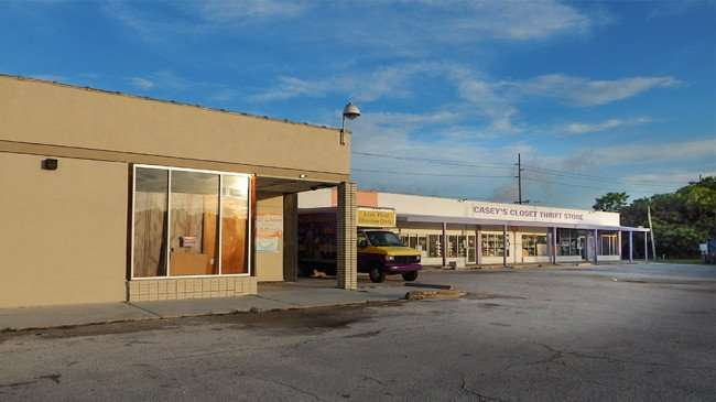 June 10, 2015 -Front building of Casey's Closet Thrift Store in Gibsonton, FL