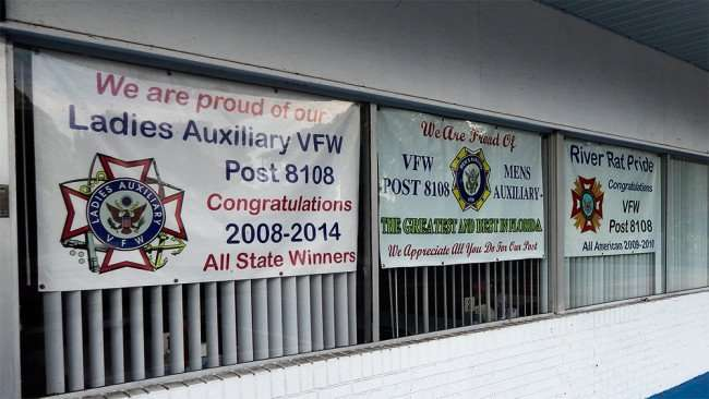 June 10, 2015 - Ladies and Mens Auxillary Post 8108 and River Rats, Riverview Memorial VFW Post 8108