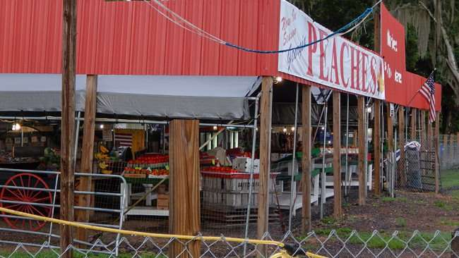 June 11, 2015 - Fruit and vegetables at Wolfe's Produce Market, Riverview, FL