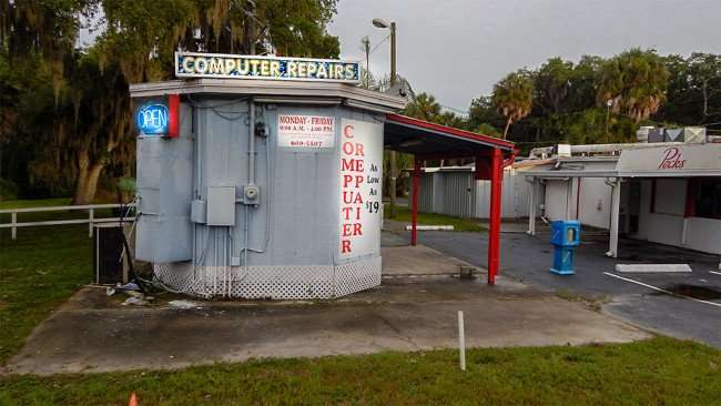 June 11, 2015 - Not-A-Geek Computer Repair shop on Hwy 301, Riverview South Shore, FL