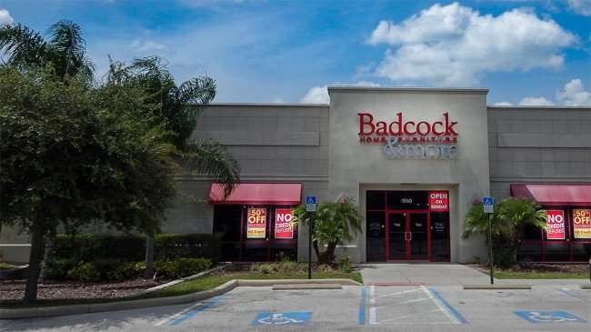 June 12, 2015 - Badcock Home Furniture 50 percent off sale in Ruskin, FL