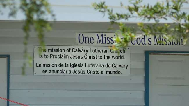 June 12, 2015 - Calvary Church mission statement on the Thrift Store and Food Pantry in Ruskin South Shore, FL