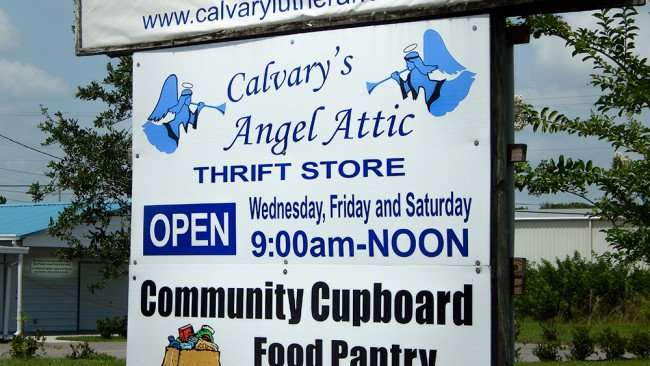 June 12, 2015 - Calvary's Angel Attic Thrift Store open Wed, Fri, Sat from 9:00 am to 12:00 pm