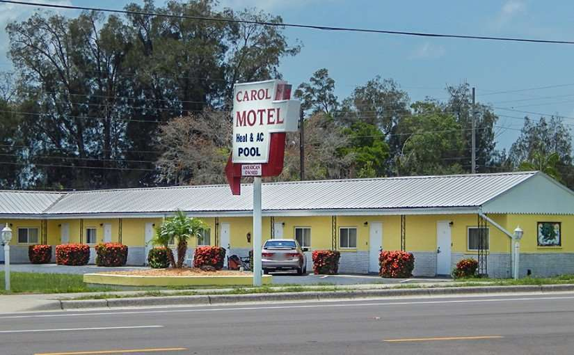 June 12, 2015 - Carol Motel, cheapest prices in South Shore, Ruskin, FL