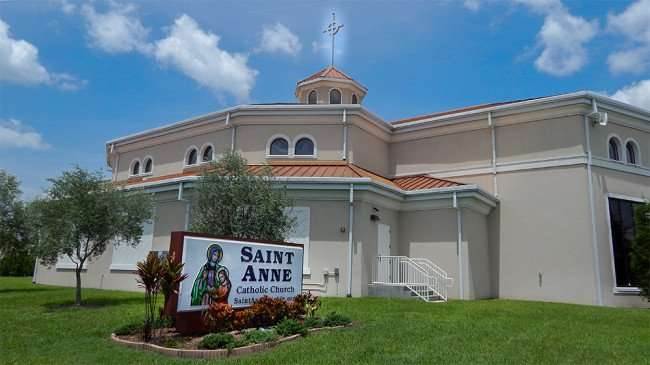 June 12, 2015 - Saint Anne Catholic Church along Hwy 41, Ruskin, FL