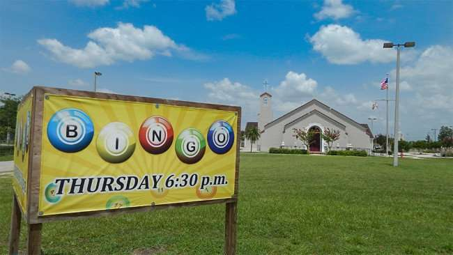 June 12, 2015 - St Anne's Catholic Church Bingo, Thursday, 630 pm in Ruskin, FL