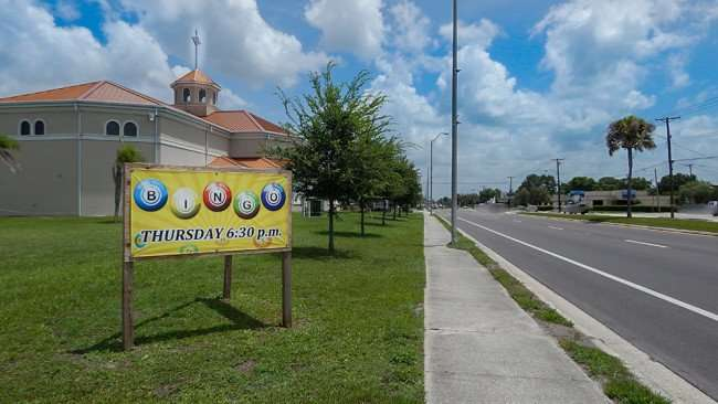 June 12, 2015 - St Anne's Catholic Church offers Bingo on Thursdays, 6:30 pm in Ruskin, Florida