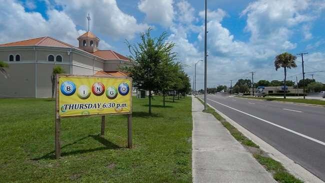 June 12, 2015 - St Anne's Catholic Church offers Bingo on Thursdays, 6:30 pm in Ruskin, Florida