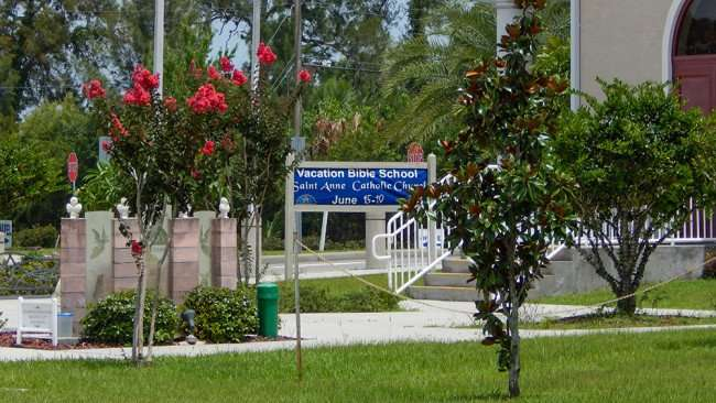 June 12, 2015 - Vacation Bible School, Saint Anne Catholic Church June 15 - 19, Ruskin, FL