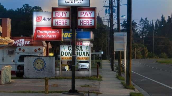 June 20, 2015 - Thompson Auto Parts next Casa Don Juan Mexican Restaurant on US 41 in Ruskin, FL