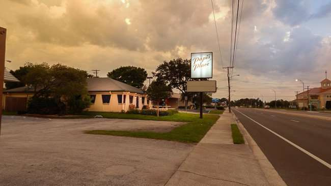 June 22, 2015 - Popi's Greek and American Restaurant on historic Tamiami Trail (US Hwy 41) in Ruskin SouthShore, FL