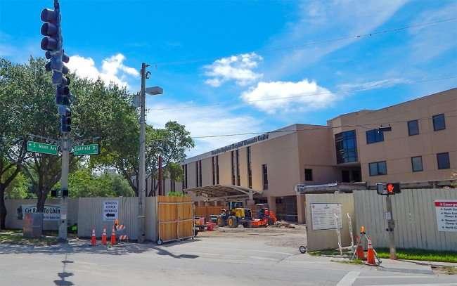 June 23, 2015 - Brandon Regional Hospital under construction adding ER, Parking and rooms Brandon, FL