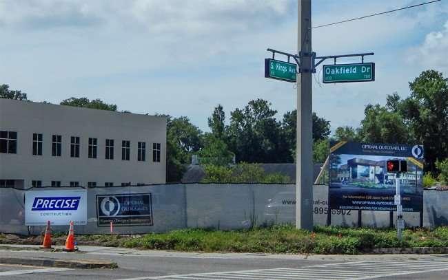 June 23, 2015 - Optimal Outcomes Medical building slated to open November 2015 in Brandon, FL