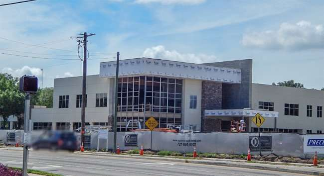 June 23, 2015 - Optimal Outcomes Medical building under construction in Brandon, FL
