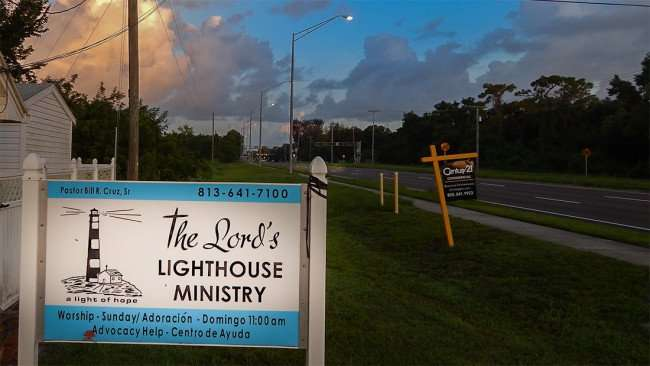 June 27, 2015 - The Lords Lighthouse Ministry with Pastor Bill R Cruz Sr, College Ave, Ruskin, FL