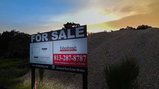 June 30, 2015 - Banner Eshenbaugh Land Company Ryan Sampson at Circle K construction site Riverview SouthShore, FL