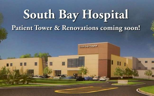 June 4, 2015 - Artist Rendering of Patient Tower at South Bay Hospital, Sun City Center