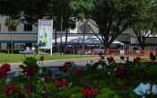 June 4, 2015 - South Bay Hospital with people attending ground breaking ceremony in Sun City Center, FL