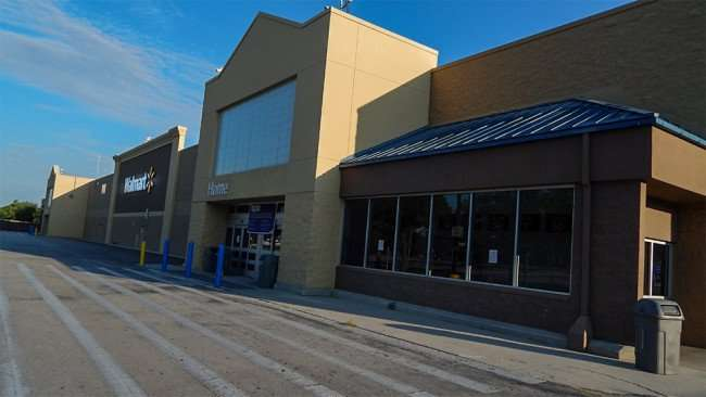 June 7, 2015 - Brandon Walmart Supercenter closed temporarily for plumbing problems and new liquor store addition