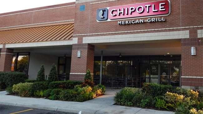June 7, 2015 - Chipotle Mexican Grill building at 103 Brandon Town Center Dr, Brandon, FL