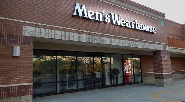 June 7, 2015 - Mens Wearhouse suits Buy 1 Get 1 Free Sale in Brandon Town Center, Brandon, FL