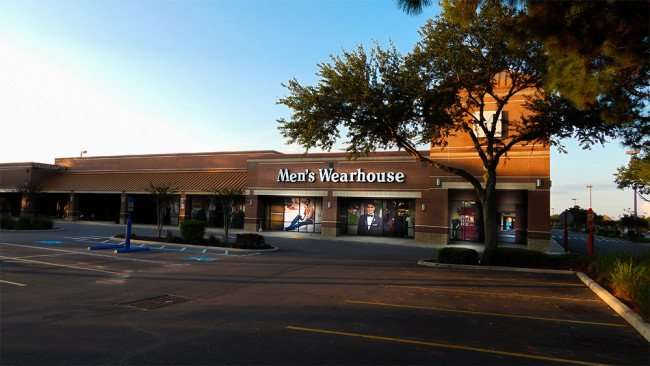 June 7, 2015 - Mens Wearhouse suits Buy one Get one Free Sale in Brandon Town Center, Brandon, FL