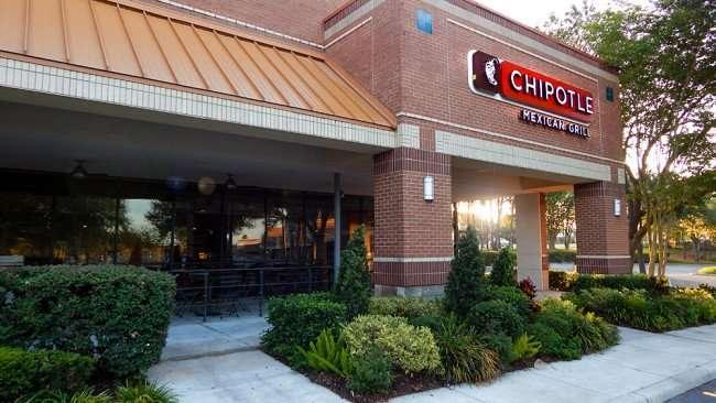 June 7, 2015 - Morning sun shines through Chipotle Mexican Grill at 103 Brandon Town Center Dr, Brandon, FL