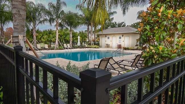 MAY 12, 2015 - Verona pool in Renaissance neighborhood of Sun City Center, FL