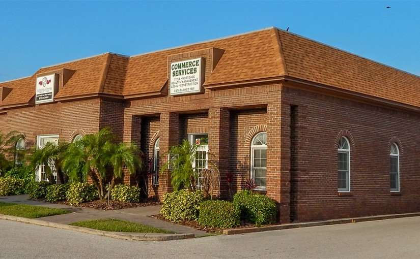 MAY 22, 2015 - Commerce Title Services, title insurance, construction, management, Apollo Beach South Shore FL