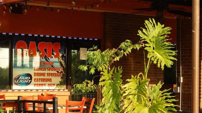 MAY 22, 2015 - Live Music, carry out at Oasis On The Boulavard Restaurant in Apollo Beach, FL