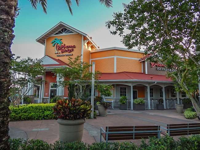 MAY 28, 2015 - Bahama Breeze Island Grille at Westfield Brandon Mall Shopping Center, Brandon, FL