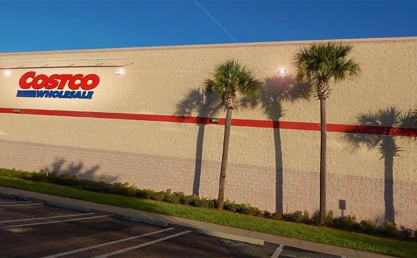MAY 28, 2015 - COSTCO WHOLESALE a bulk items discount store in Brandon, FL