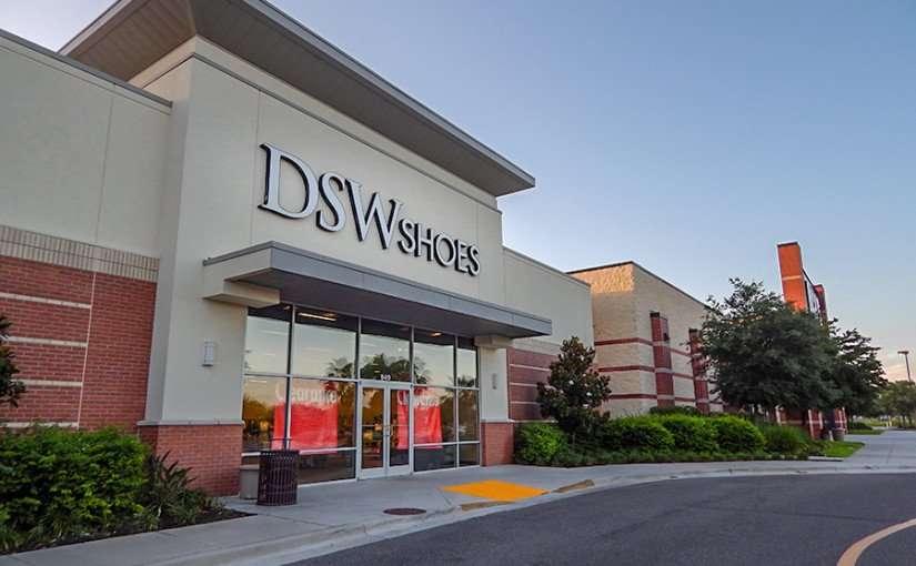 MAY 28, 2015 - DSW Shoes Clearance Sale ar Westfield Brandon Mall, Brandon, FL