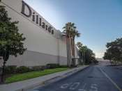 MAY 28, 2015 - Dillards Westfield Brandon Mall early morning without cars or people in Brandon, FL