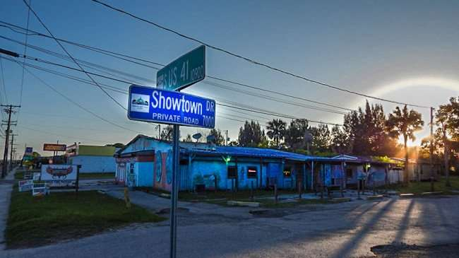 MAY 31, 2015 - Showtown Bar at Showtown Dr and US 41, Gibsonton, FL