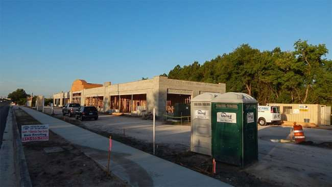 May 28, 2015 - Construction site of Childcare of Brandon at Brandon Town Center Dr