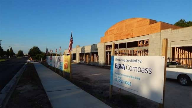 May 28, 2015 - Construction site of Childcare of Brandon at Brandon Town Center Dr Finacing by BBVA Compass Eric Vogt
