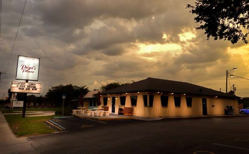 June 22, 2015 - Popi's Place Greek and American Restaurant on Tamiami Trail (Hwy US-41), Ruskin, FL